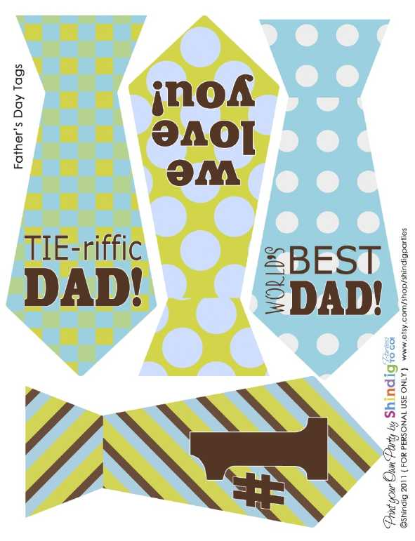 Vibrant image inside happy father's day banner printable