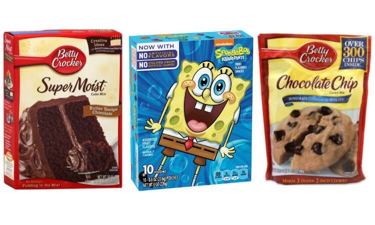 Printable Betty Crocker Coupons for Cake Mix, Cookie Mix, Brownies, Fruit Snacks and More