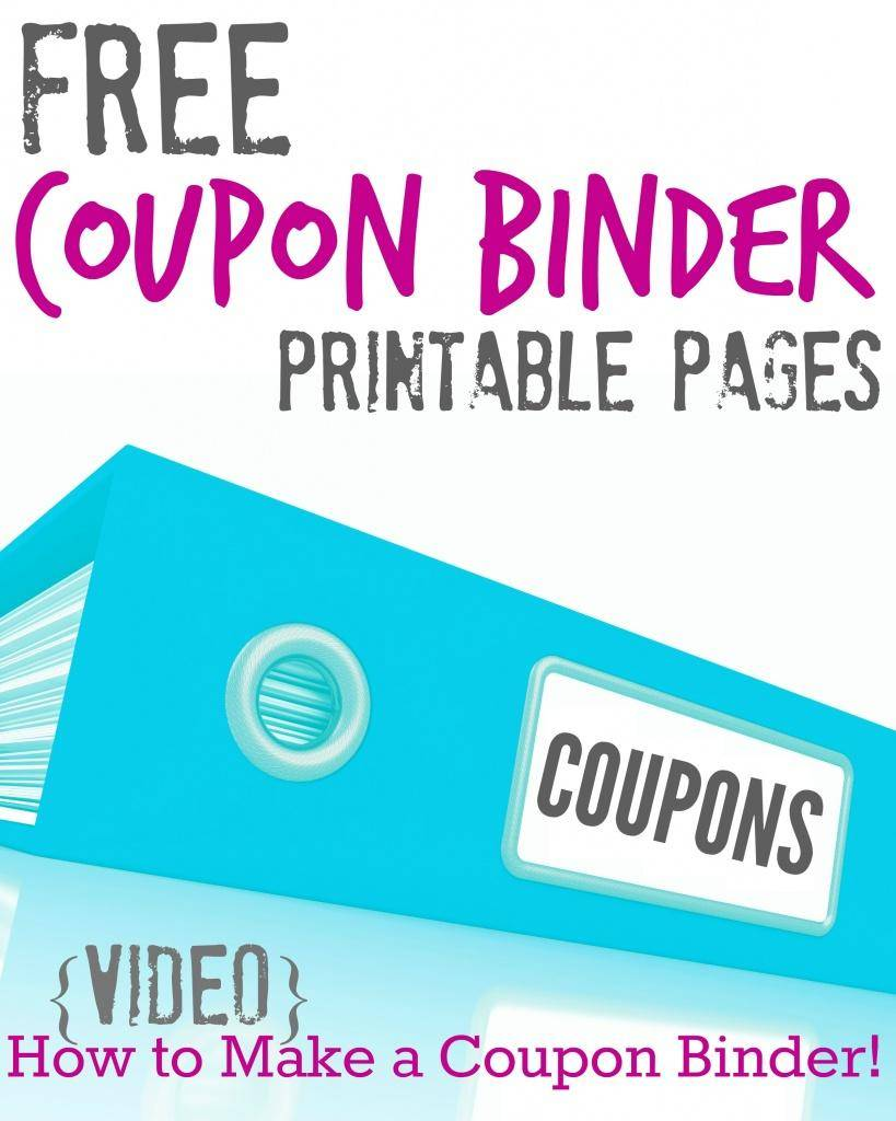 picture about Coupon Binder Printable titled Totally free Printable Coupon Binder Internet pages!!! - Pion for Discounts