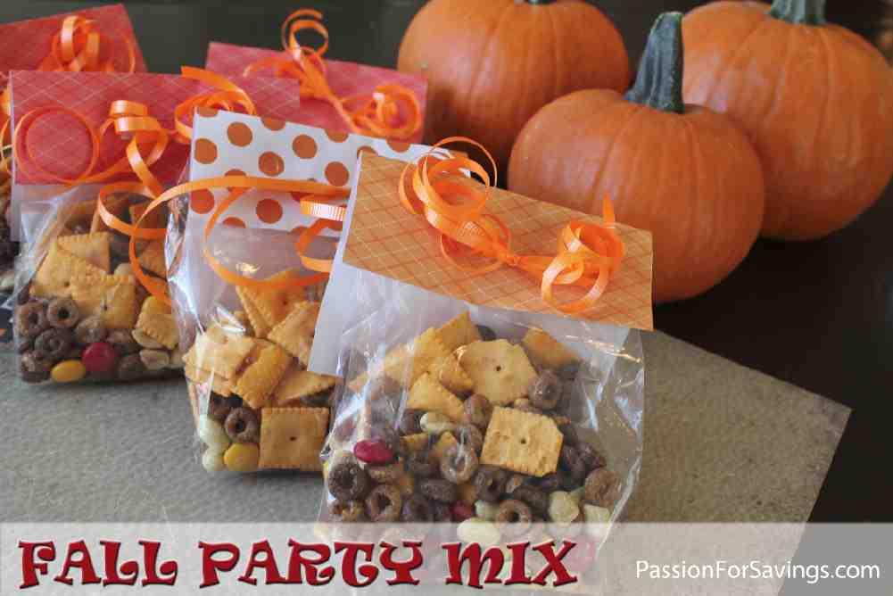 Fall Party Mix Recipe