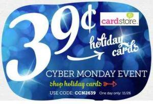 Cyber Monday Deals Christmas Cards