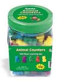 Animal Counters Learning Set