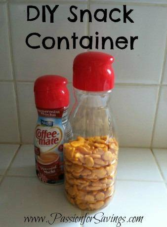 DIY Snack Container