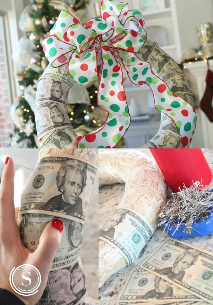 money wreath 2
