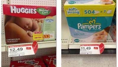 Pampers Wipes Coupon