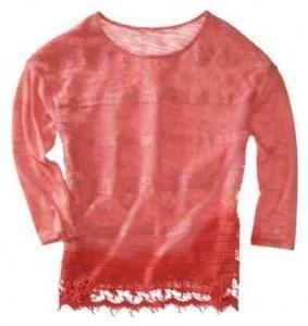 Juniors Lace Top