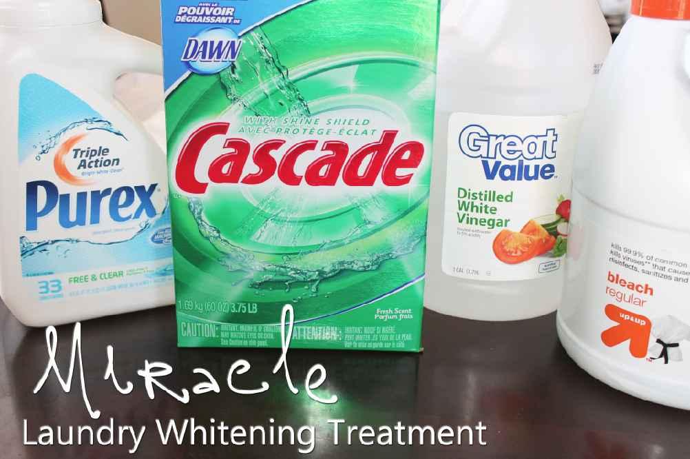 How to Whiten Whites