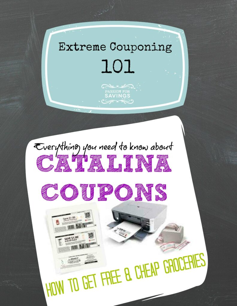 Catalina discounts coupons