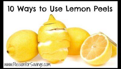 Uses for Lemon Peels