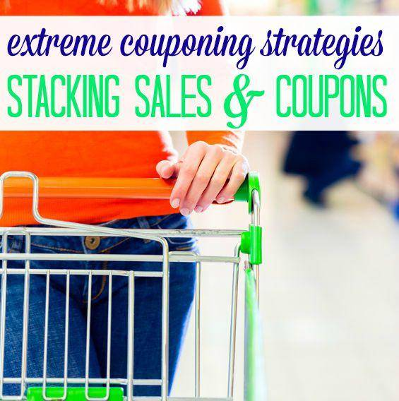 stacking sales and coupons