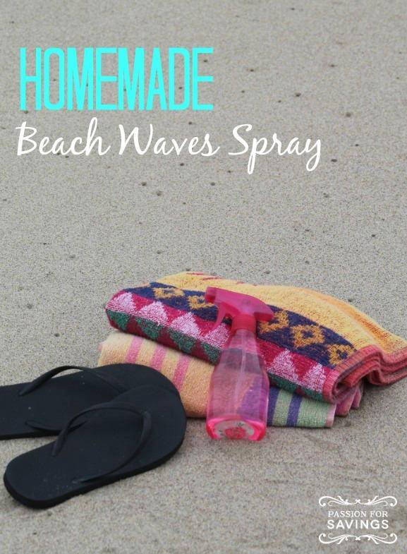 Homemade Beach Waves Spray 1
