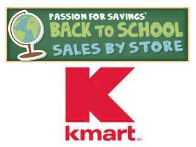 Kmart Back to School Deals