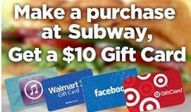 Free $10 Gift Card