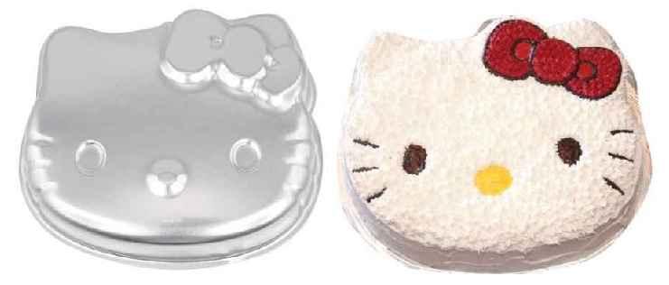 Hello Kitty Cake Pan 7 99 Free Shipping