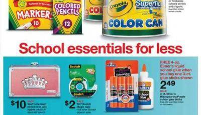Target Back to School 7-7