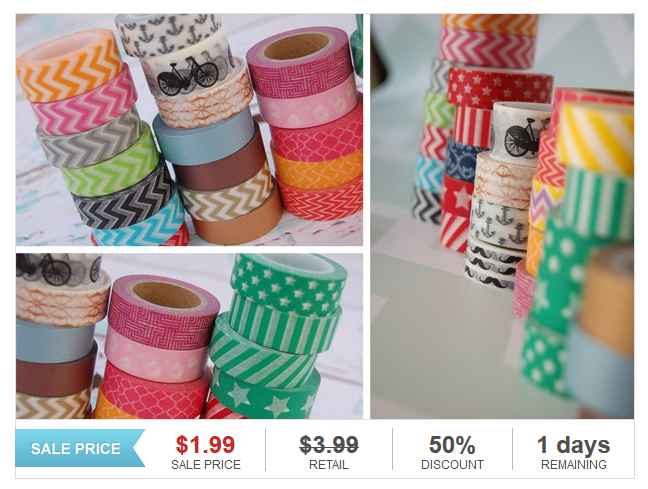 Washi Tape Deals