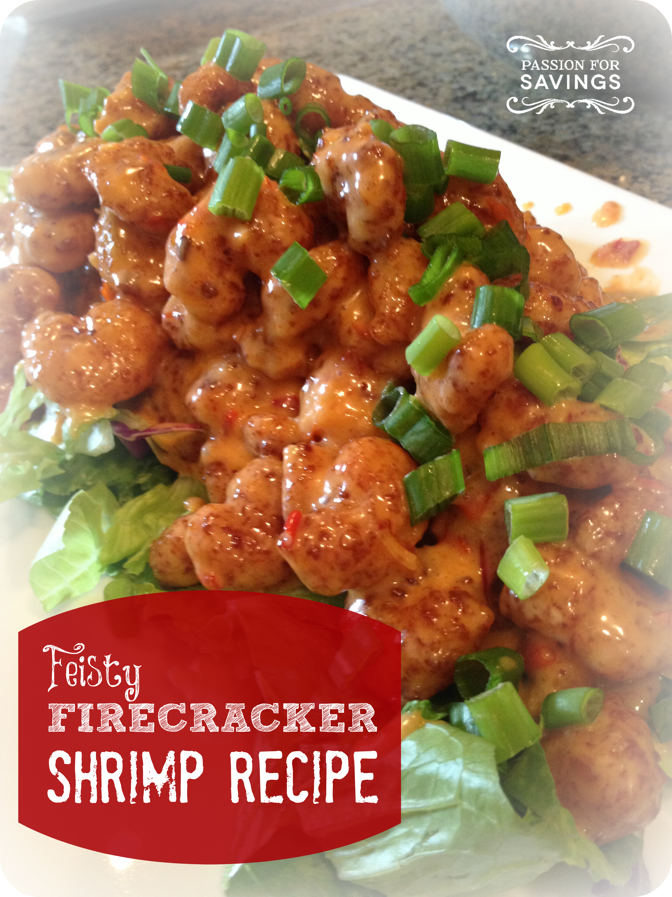 Firecracker shrimp recipe