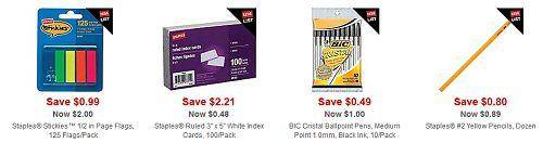 Staples Back to School 2