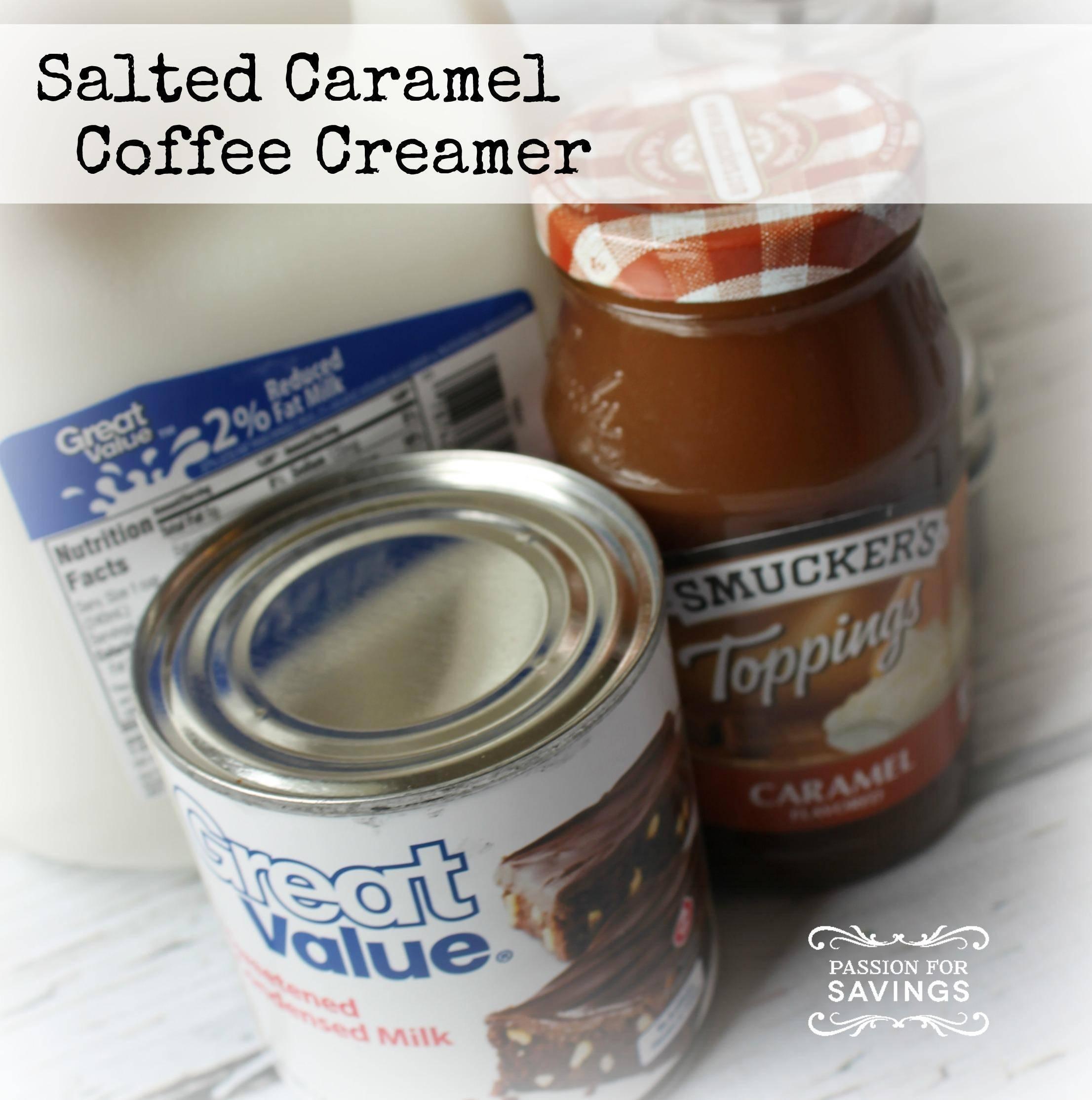 Salted Caramel Coffee Creamer Recipe