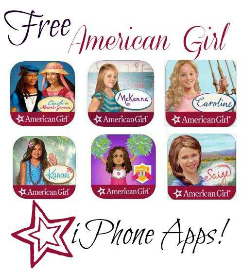 Free American Girl iPhone Apps