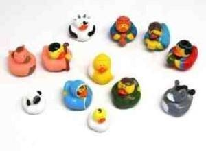 Rubber Duckie Natvity Set