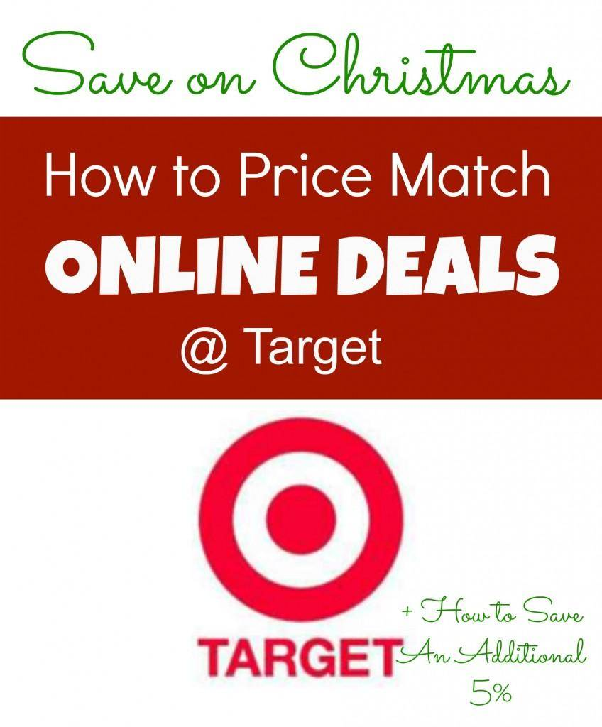 target online price match policy 2013