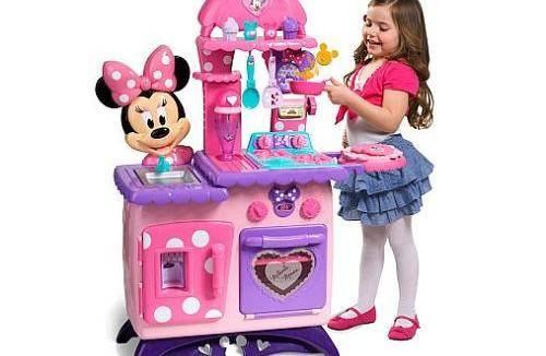 Minnie Mouse Bow-tique Flippin' Fun Kitchen
