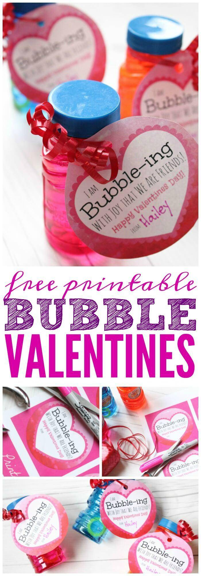 bubble hit valentine