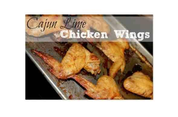 Cajun Lime Chicken Wings Recipe