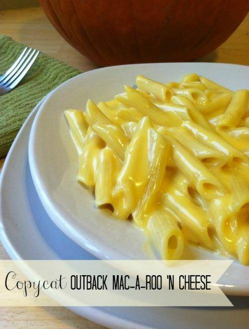 Copycat Outback Mac A Roo N Cheese Recipe