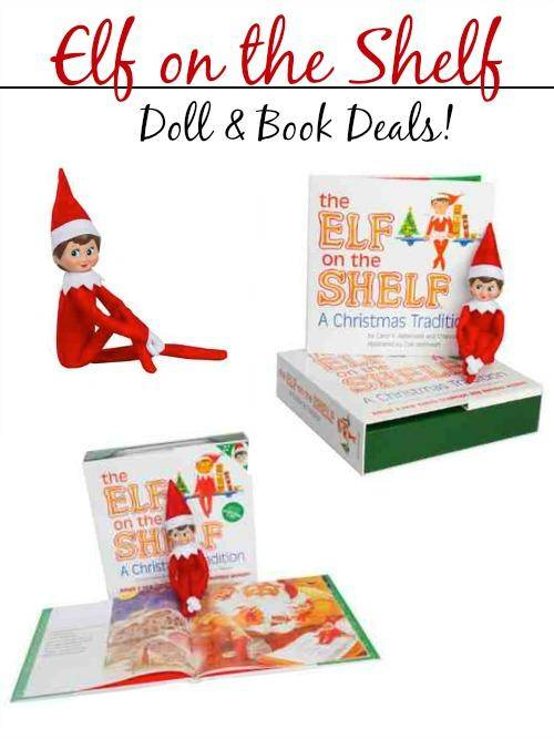 Elf on the Shelf Doll and Book Deals