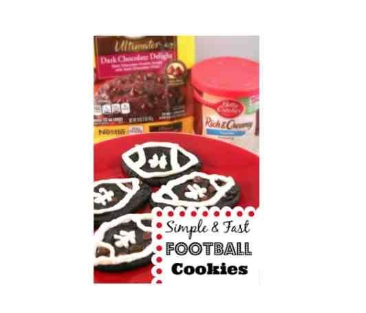 How to Make Easy Football Cookies