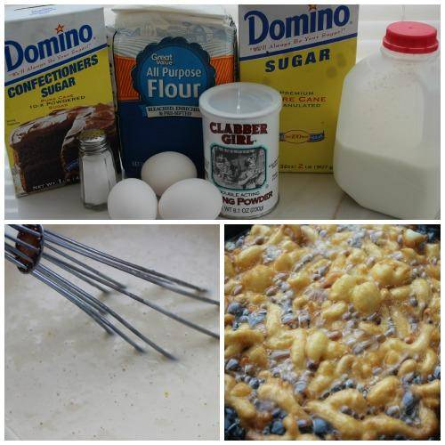 Homemade Funnel Cake Recipe Ingredients