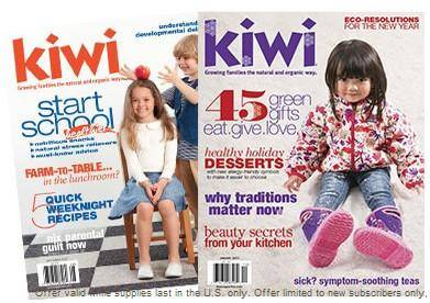 FREE Kiwi Magazine Subscription