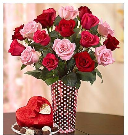 Send the best Valentine's Day flowers this year to make her day. Valentine flowers include the classic red rose to more modern romantic floral stems including Asiatic Lilies, Tulips and Orchids. We offer the best Valentines Day flower deals on Valentine roses and unique bouquets.