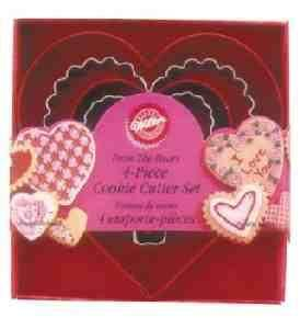 Valentines Day Baking Deals for Women LOW PRICES ,Wilton Cookie Cutter Set