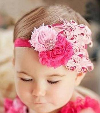 Baby Feather Headbands