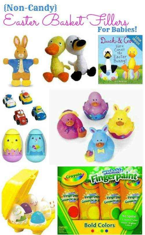 Non Candy Easter Basket Fillers for Babies
