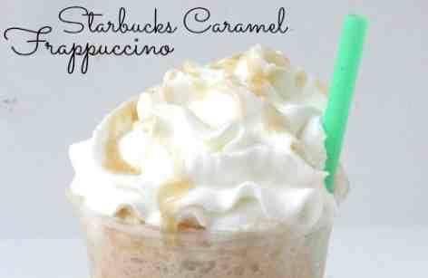 Copycat Starbucks Caramel Frappuccino Recipe