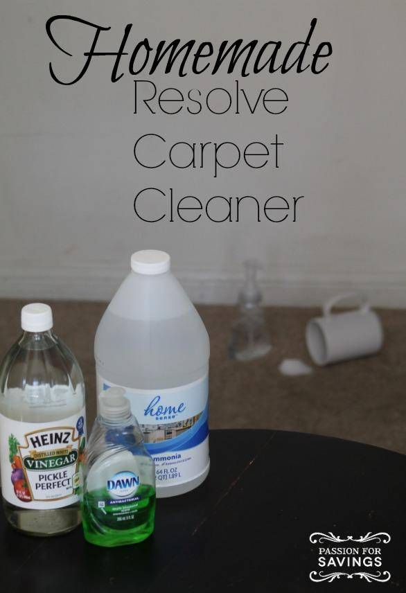 Diy Carpet Cleaner Solution Best Accessories Home 2017