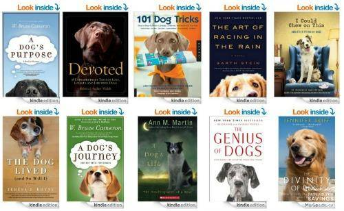 Kindle Books for Dog Lovers