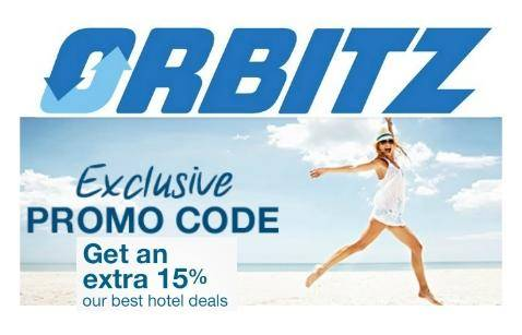 Orbitz is offering 15% off select hotels with promo code Show Code