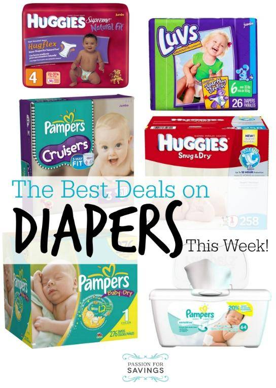 best diaper deals