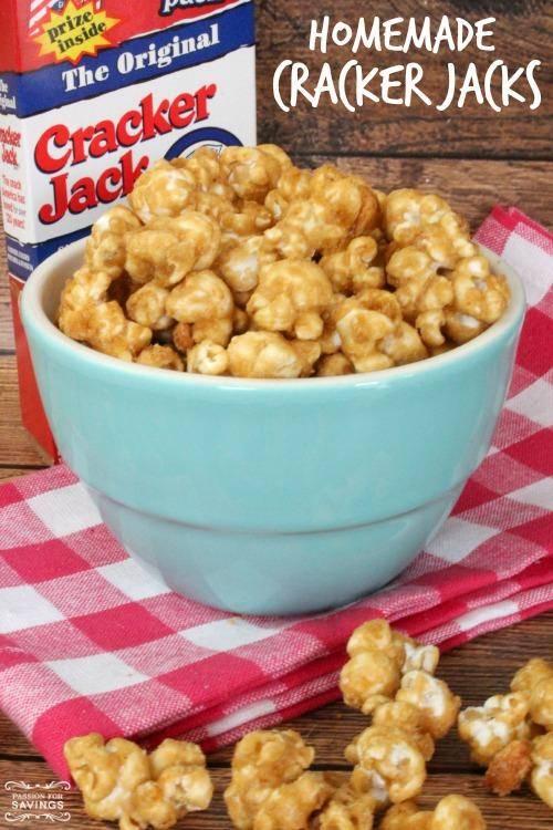Homemade Cracker Jacks Recipe Go