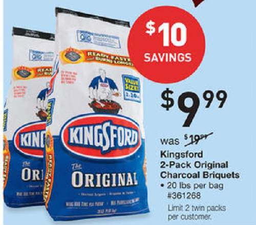 New $2/1 Kingsford Charcoal Coupon +... - Living Rich With ...