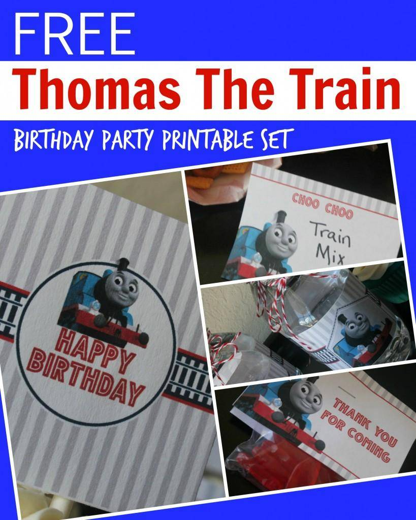 Agile image for free printable thomas the train cup cake toppers