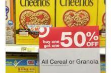 Cheerios Cereal Coupons