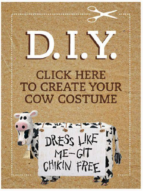 Cow Costume Free Download