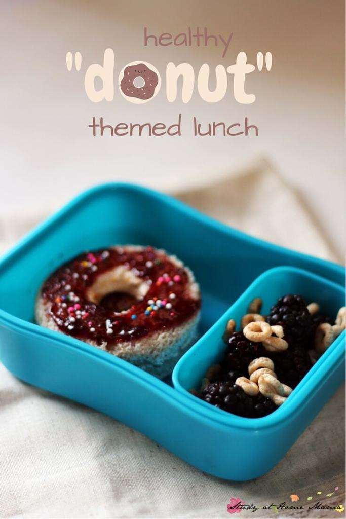 Donut Themed Lunch Box Ideas for Kids