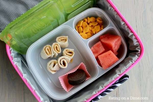 Peanut Butter Rollup Lunch Box Ideas for Kids